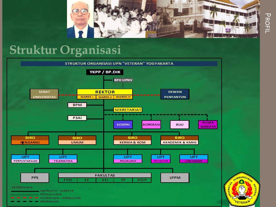 P ROFIL Struktur Organisasi