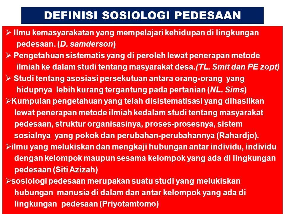 FAKTOR PENYEBAB URBANISASI 1.Faktor pendorong (push factors) 2.