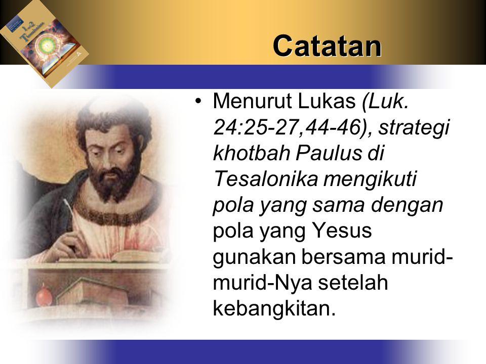 Catatan Menurut Lukas (Luk.