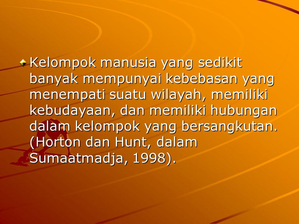 STRUKTUR MASYARAKAT MAJEMUK INDONESIA Apakah masyarakat majemuk itu.