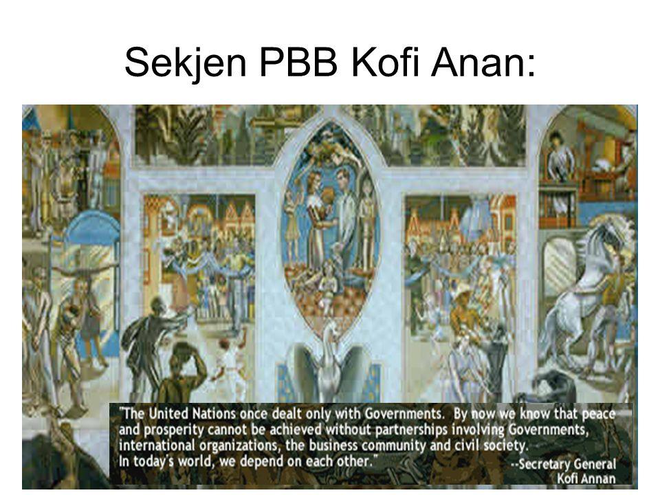 Sekjen PBB Kofi Anan: