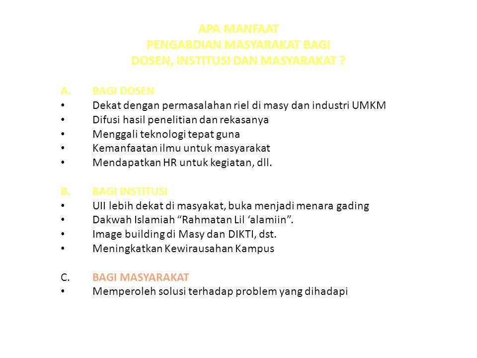 MACAM PROGRAM HIBAH 1.IPTEKS BAGI MASYARAKAT (IbM) 2.IPTEKS BAGI KEWIRAUSAHAAN (IbK) 3.IPTEKS BAGI PRODUK EKSPOR (IbPE) 4.IPTEKS BAGI INOVASI DAN KREATIVITAS KAMPUS (Ib- IKK) 5.IPTEKS BAGI WILAYAH (IbW)
