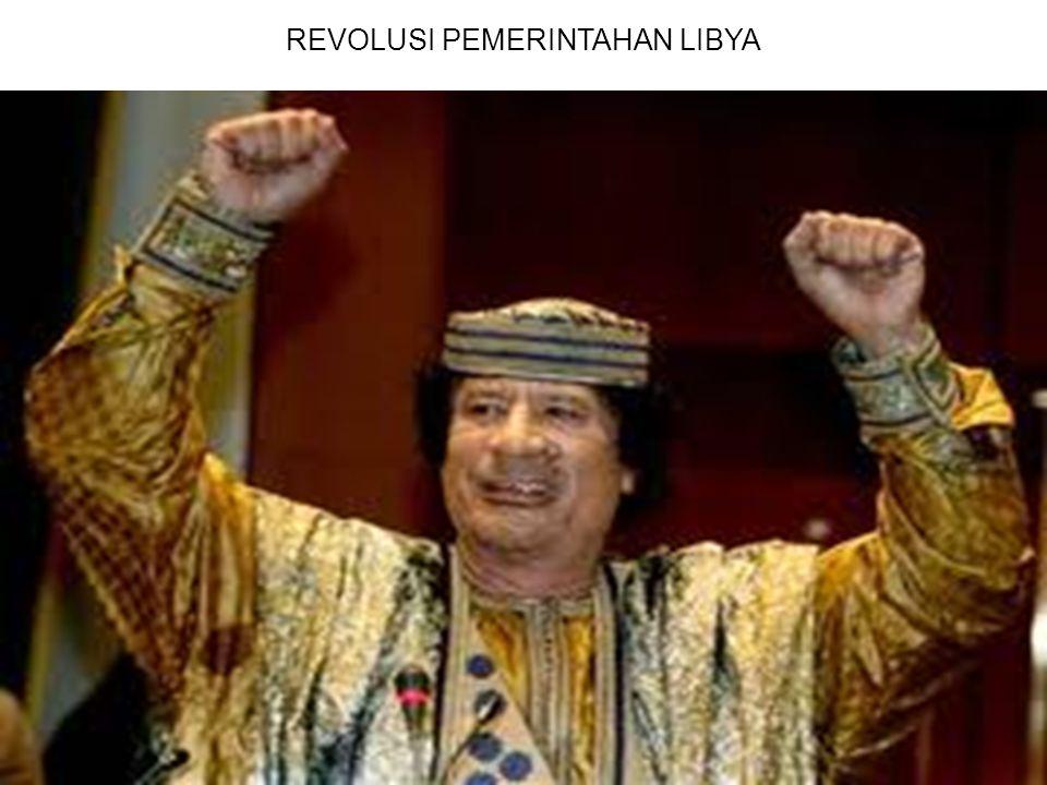 REVOLUSI PEMERINTAHAN LIBYA