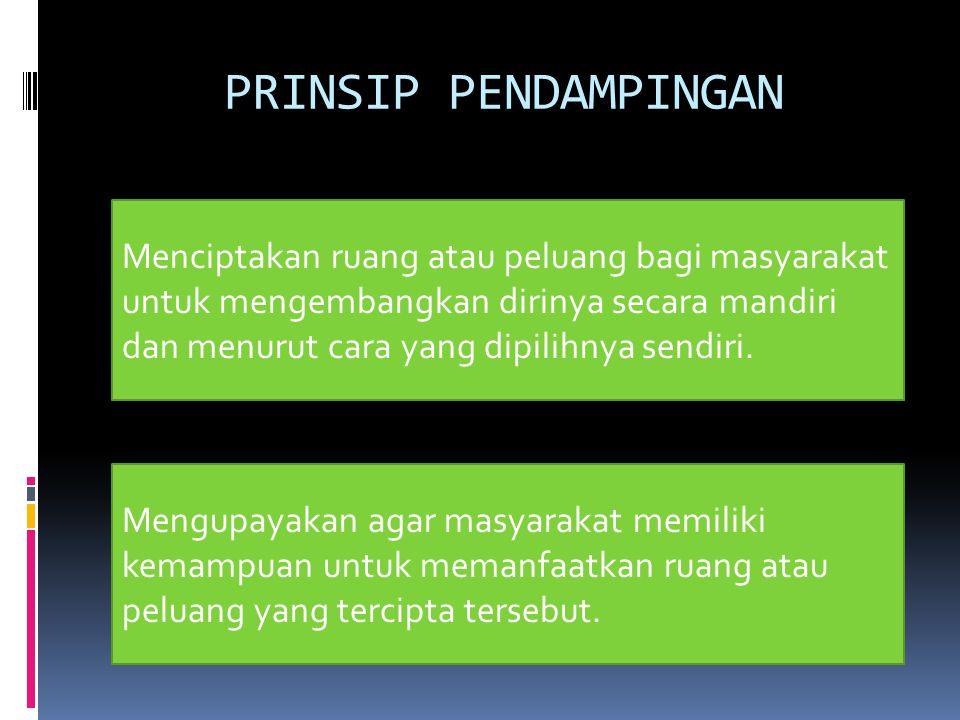 1.Penyadaran (hak dan kewajiban masyarakat; potensi dan masalah yang dialami masyarakat) 2.
