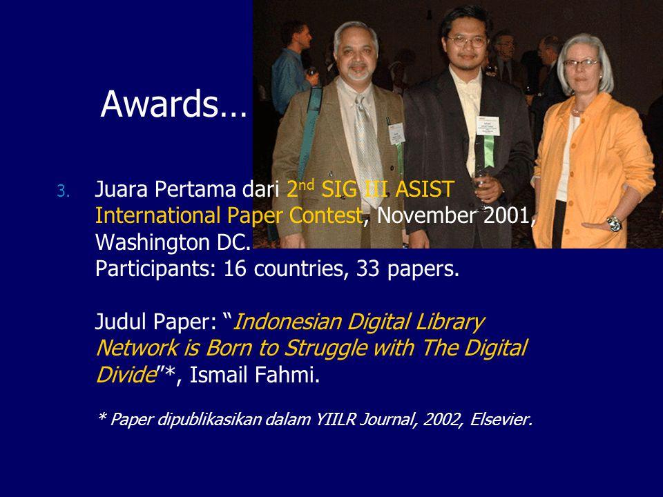 Digital Library KLH http://digilib.menlh.go.id Database Bibliografi (IsisOnline) Fullteks: Best practices Kliping Peraturan Laporan Pidato Tesis & Disertasi