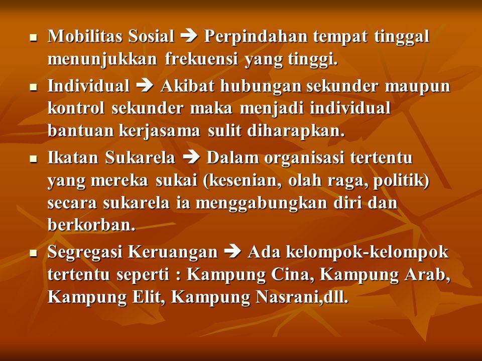 MASYARAKAT PEDESAAN  Kurang lebih 81,2%wilayah Indonesia tinggal di Desa.