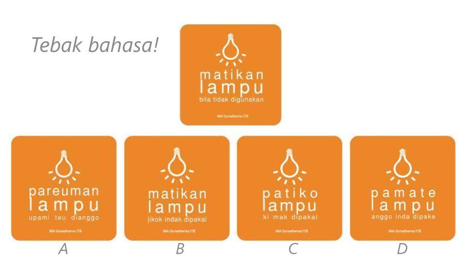 Bahasa Indonesia SundaMinangLampung Mandailing