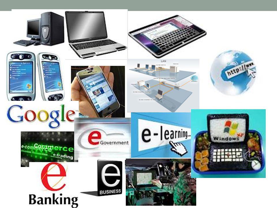 Bidang Perbankan  Sistem uang elektronik (ATM, kartu kredit dan debit)  Penyimpanan data  Pemrosesan transaksi secara on-line  Pembayaran tagihan secara on-line