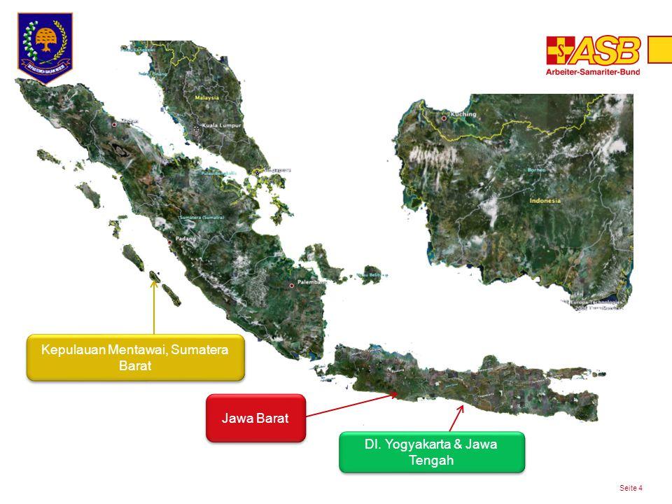 Kegiatan Program 2013 Seite 5 1.Pengembangan kapasitas masyarakat sesuai 16 indikator Program Nasional Desa Tangguh di Mentawai, Bantul dan Gunungkidul.