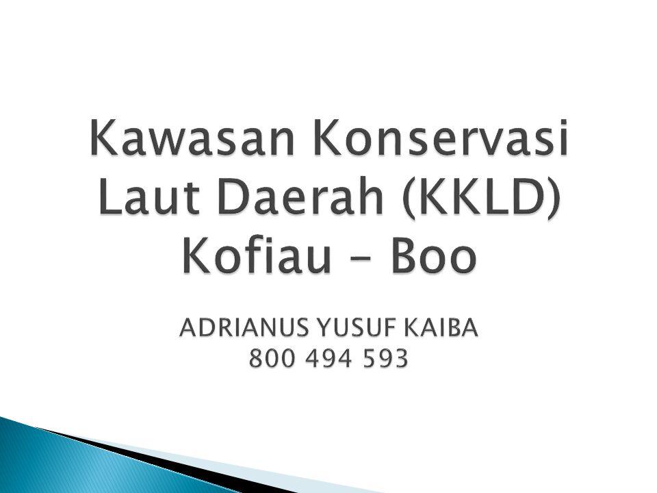  Pada tahun 2014, tidak ditemukan lagi kegiatan 'destructive fishing' di 3 daerah no take zone (Wamei,gebe dan Boo besar) di KKLD Kofiau.