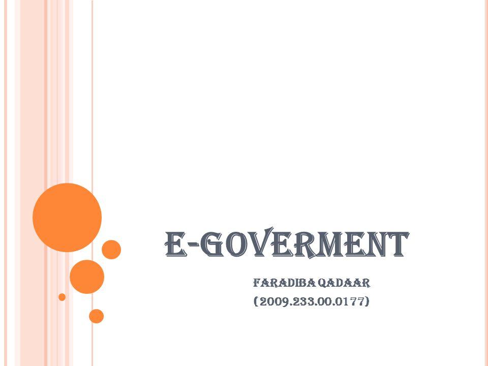 E-GOVERMENT FARADIBA QADAAR (2009.233.00.0177)