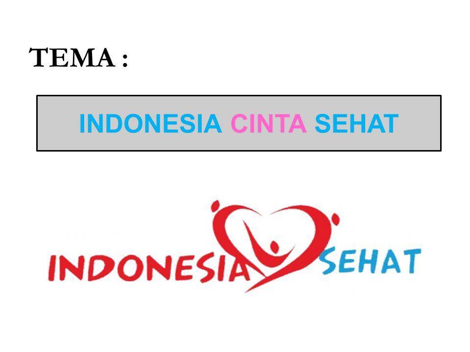 TEMA : INDONESIA CINTA SEHAT