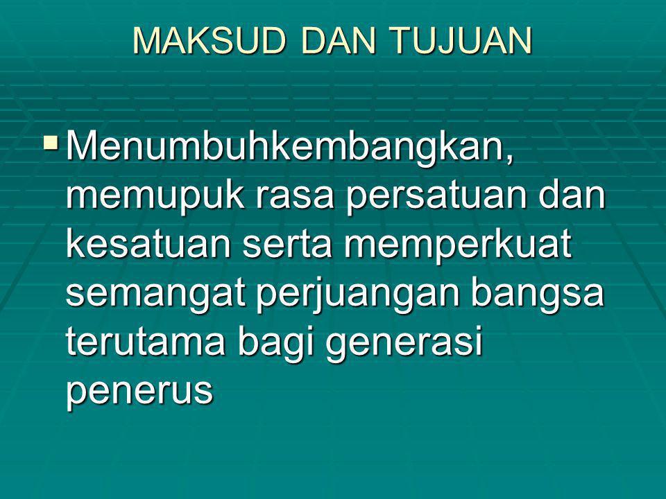 Catatan:  Prioritas penghargaan/kejuaraan dengan katagori nilai seimbang akan diutamakan bagi peserta yang dikirim langsung dari daerah (bukan diwakili, baik sebagian atau seluruhnya, oleh potensi dari Jakarta, kecuali DKI.