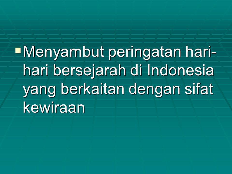 JUDUL KARNAVAL KEPRAJURITAN NUSANTARA th.2014 Taman Mini Indonesia Indah