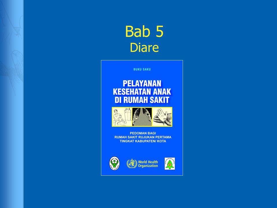 Studi kasus: Fabian Fabian, 2 tahun datang ke klinik dengan riwayat diare berat selama 4 hari.