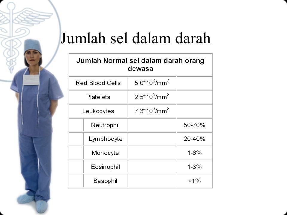 Jumlah sel dalam darah