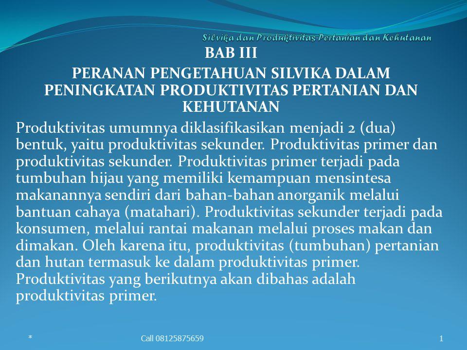 Produktivitas primer yang penting untuk ditingkatkan adalah produktivitas primer bersih (ner primary productivity/NPP), karena NPP-lah yang dapat dimanfaatkan oleh konsumen, termasuk manusia.