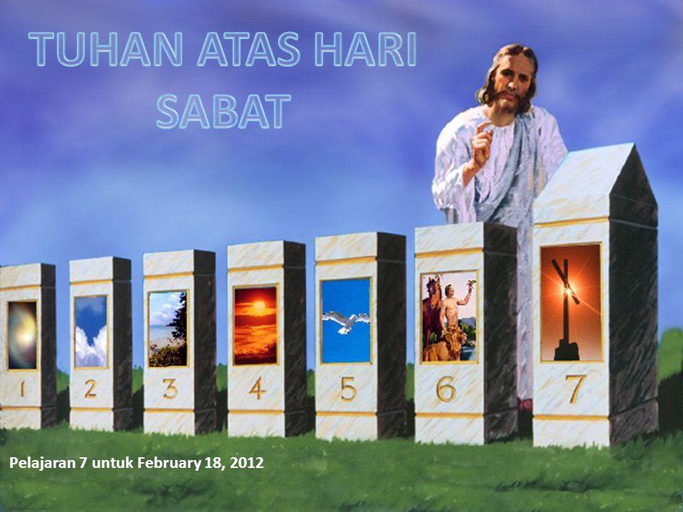 Pelajaran 7 untuk February 18, 2012