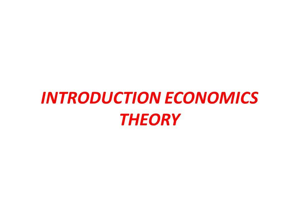1.Descriptive Economics 2. Applied Economics 3. Economics Theory 1.