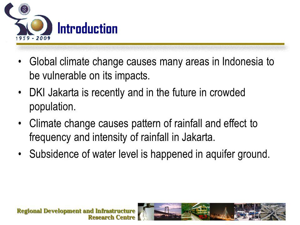 Projection of Population in Jakarta (2035) Sum up of population: 9,715,575 people Source: Bappenas, BPS, UNPF, 2005 AIR/SUNGAI FASILITAS UMUM LAHAN TERBUKA PEMUKIMAN RAWA, TAMBAK, LAUT SAWAH VEGETASI