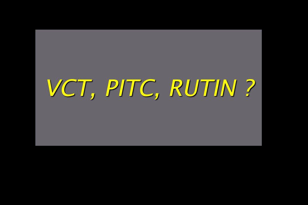 VCT, PITC, RUTIN