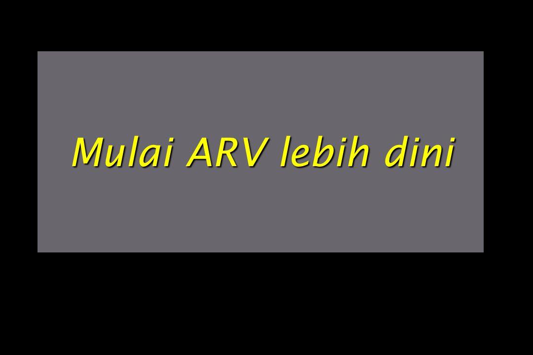 Mulai ARV lebih dini