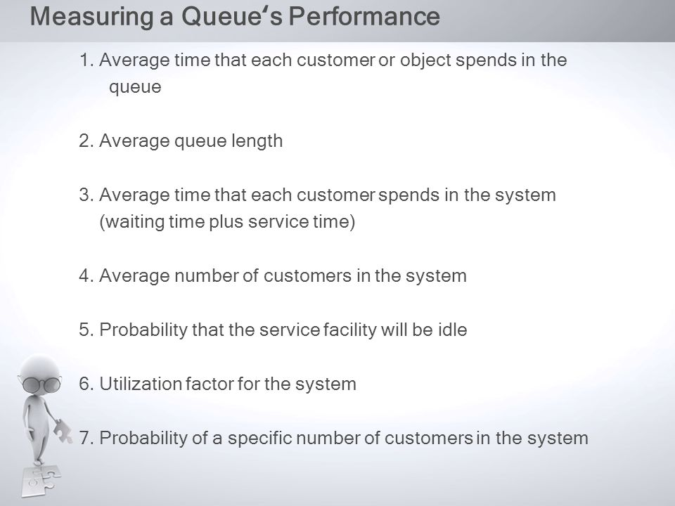 QUEUING COSTS Trade-off takes place between two costs : 1.