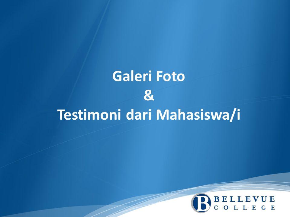 Galeri Foto & Testimoni dari Mahasiswa/i