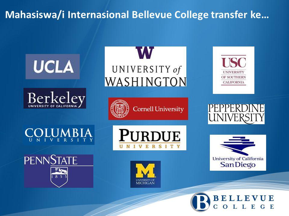 Mahasiswa/i Internasional Bellevue College transfer ke…