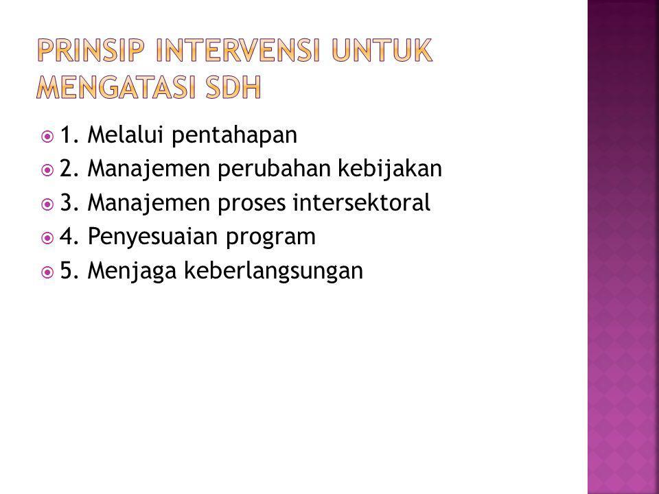  1.Melalui pentahapan  2. Manajemen perubahan kebijakan  3.