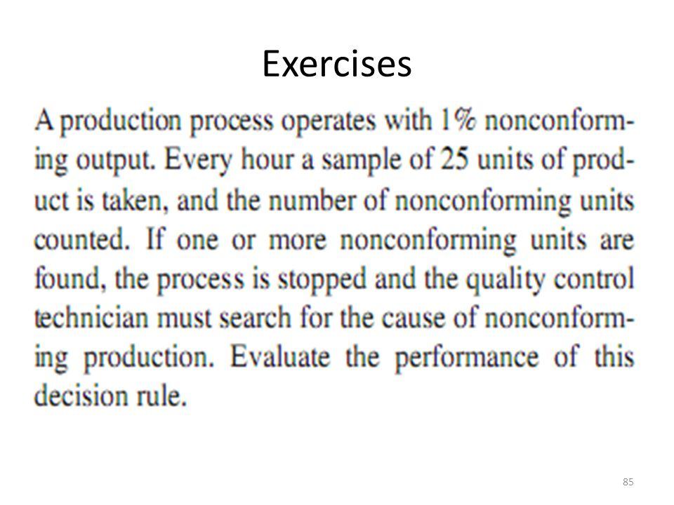 Exercises 85