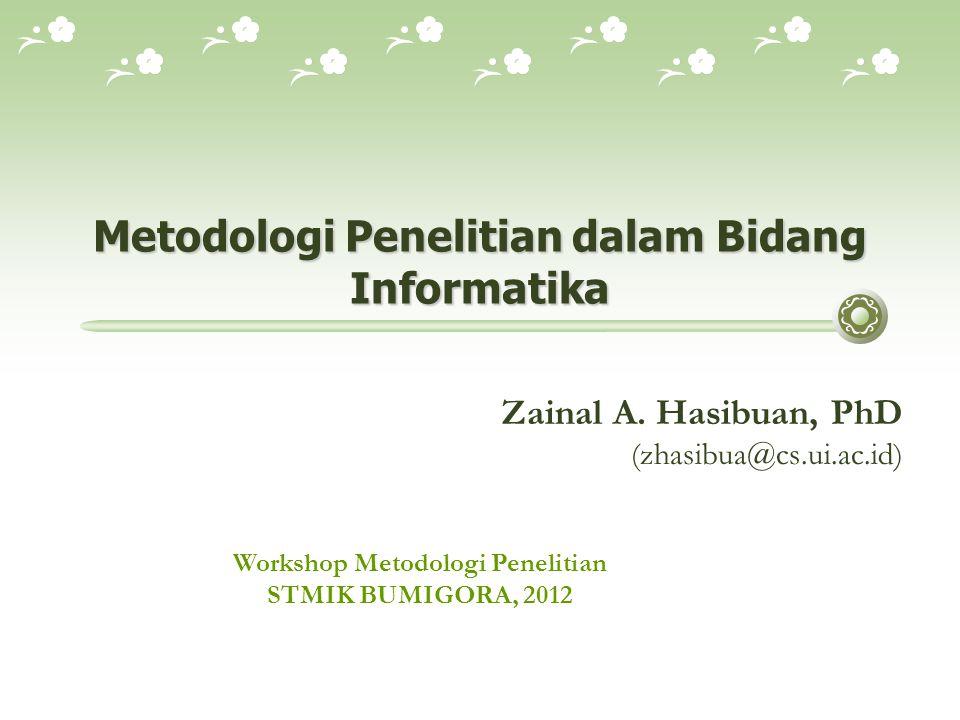 Why Methodology .