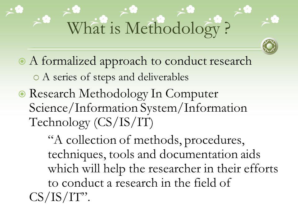 Research Methodology Vs.