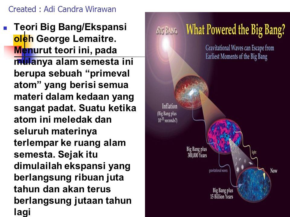 ASAL MULA ALAM SEMESTA Toeri planetesimal (berarti planet kecil) OlehT.C.Chamberliens ( 1843 - 1928 ) bersama rekannya, Astronom Forest R.