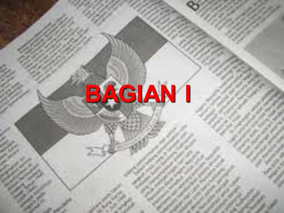 BAGIAN I