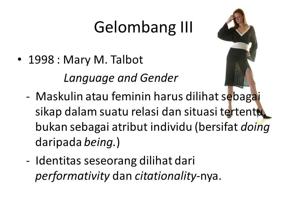 Gelombang III 1998 : Mary M.
