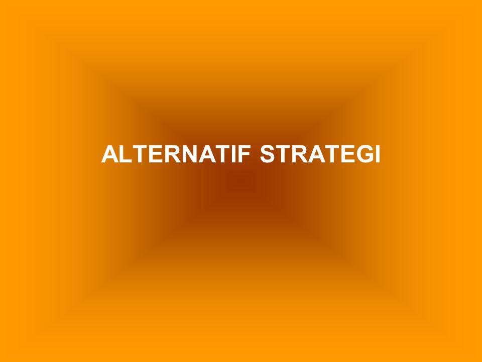 ALTERNATIF STRATEGI