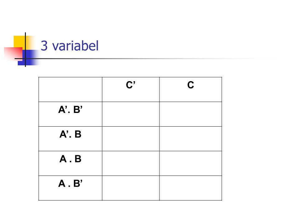 3 variabel C'C A'. B' A'. B A. B A. B'
