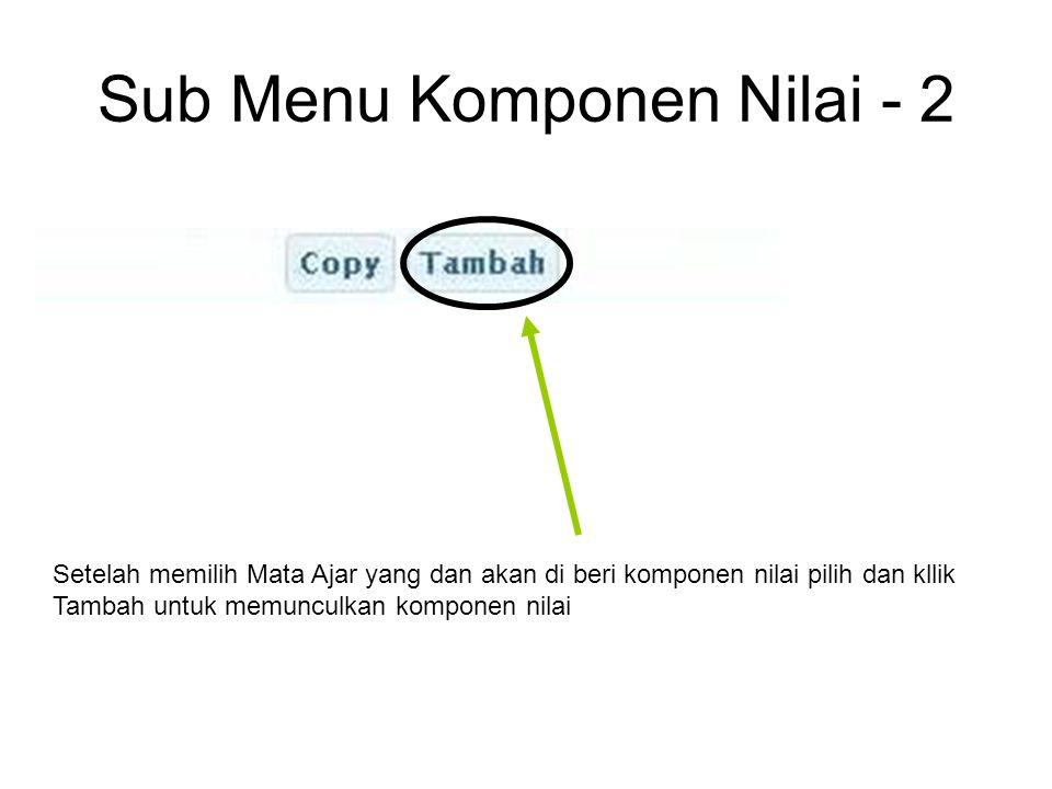 Sub Menu Nilai - 8 Akan muncul tampilan seperti di atas klik file excel yang akan di upload kemudian klik open