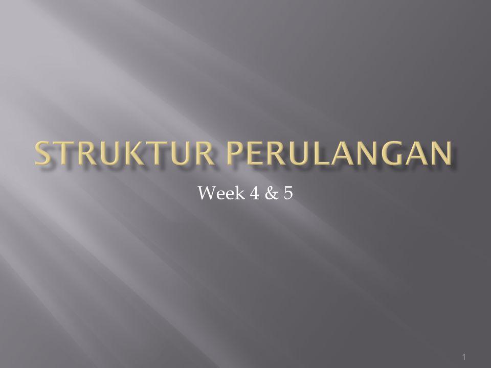 1 Week 4 & 5