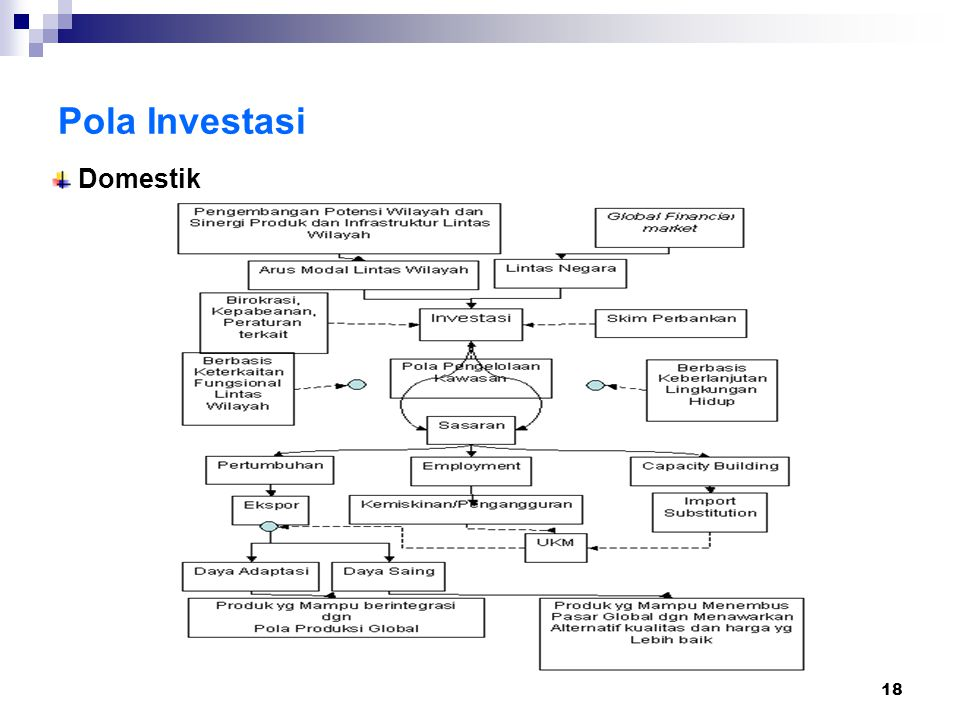 18 Pola Investasi Domestik