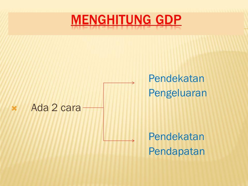 Alat ukur yang lain, selain GDP G N P G N P  GNP ( Produk Nasional Bruto ) adalah nilai pasar total semua barang dan jasa akhir yang diproduksi dalam suatu periode tertentu oleh faktor produksi oleh warga suatu negara, tanpa memandang dimana output itu diproduksi