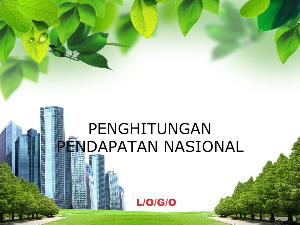 L/O/G/O PENGHITUNGAN PENDAPATAN NASIONAL