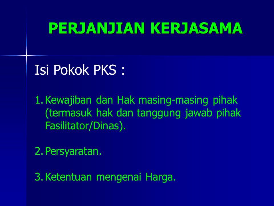 "Poktan/ Gapoktan/ Koperasi MITRA (S) Unit Usaha Bersama (G+S) (G) (MK & Pasar) Modal Kerja Sbg ""Saham"" Petani (G) Sbg ""Saham"" Prsh MITRA (S) HASIL USA"