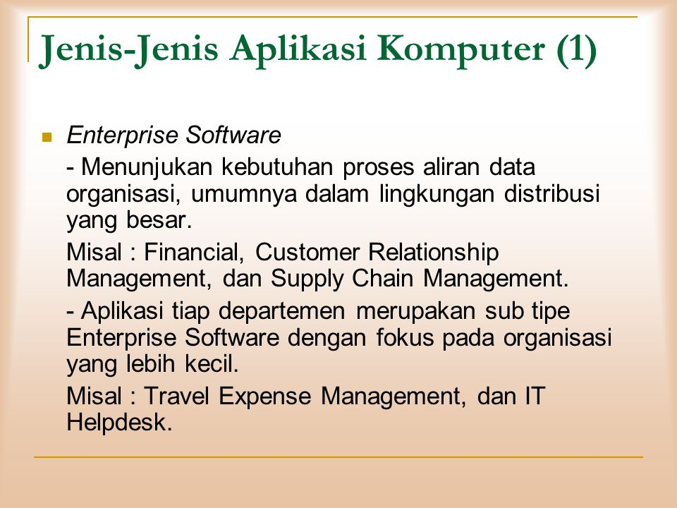 Aplikasi Internet Email Microsoft Outlook, dll.Chatting Yahoo Messenger, MIRC, Meebo, dll.