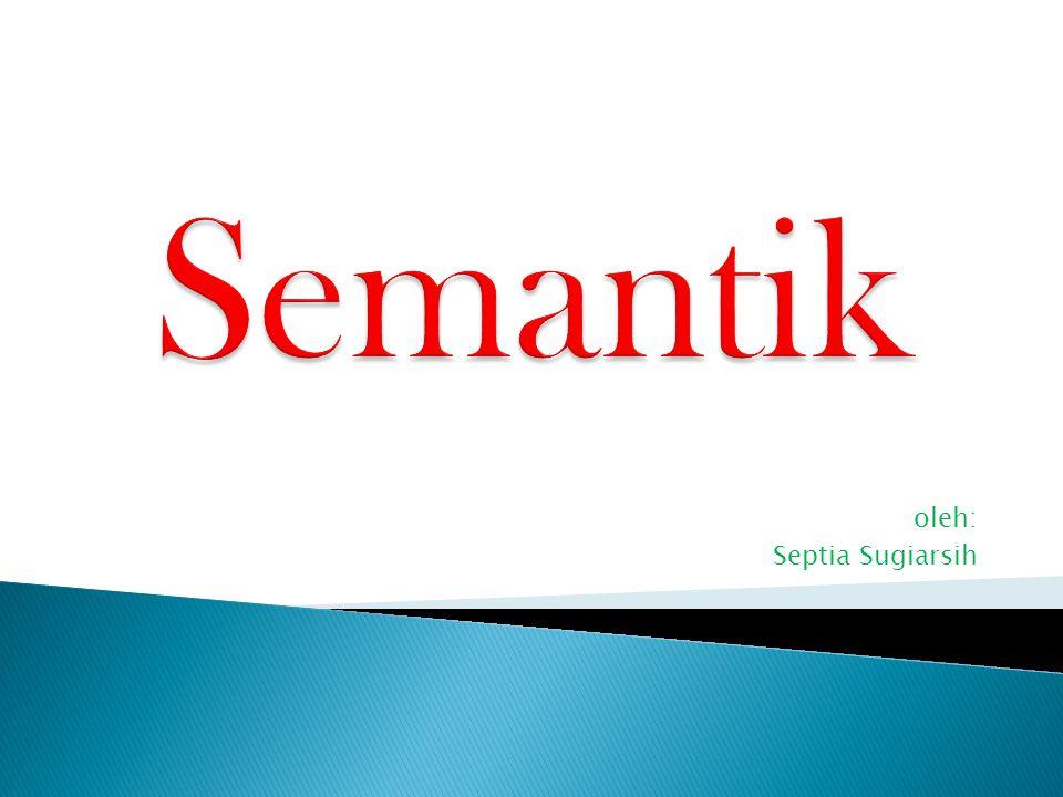 oleh: Septia Sugiarsih