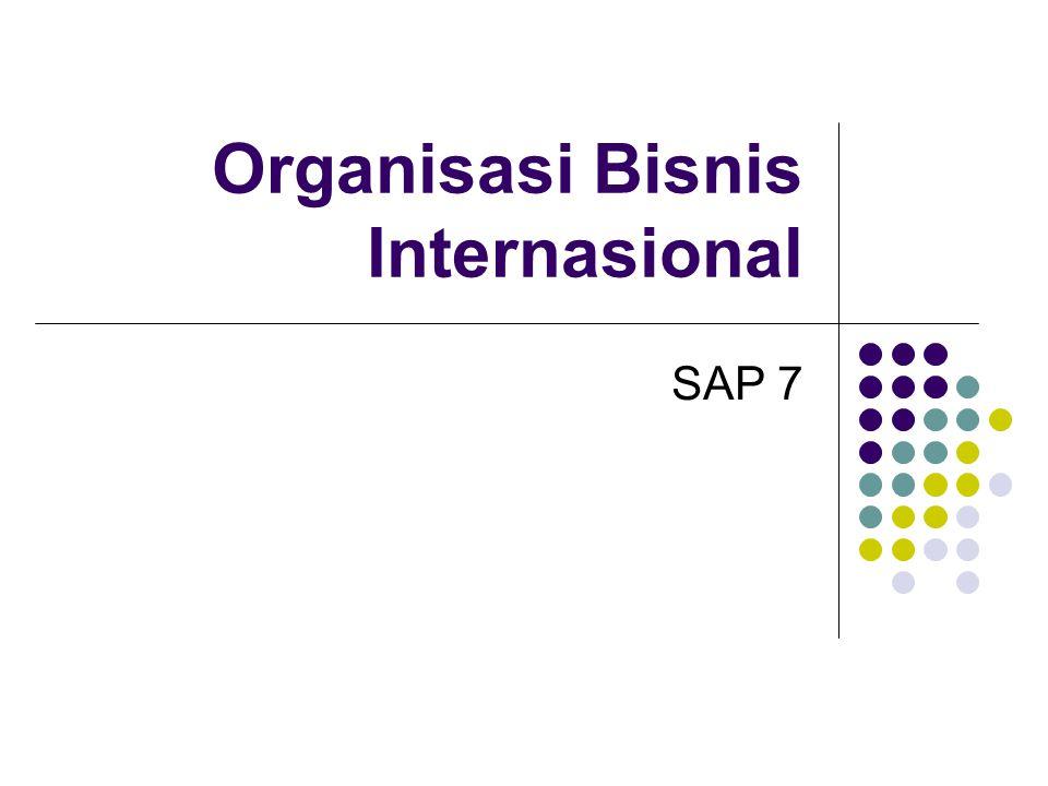 SAP 7 Bis Int 08/09A Sekarbumi2 Pembahasan Arsitektur organisasi: -SDM -Struktur Formal -Sistim Kontrol dan insentif -Proses dlm Organisasi -Budaya Organisasi Proses perencanaan untuk tk Global Perubahan Organisasi Penghalang Perubahan