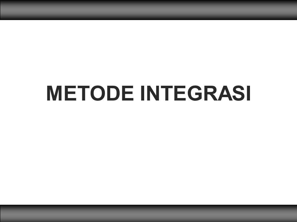 METODE INTEGRASI