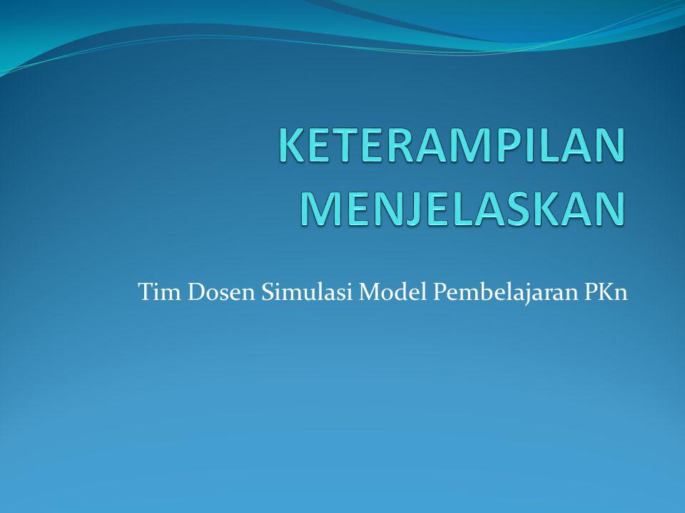 Tim Dosen Simulasi Model Pembelajaran PKn