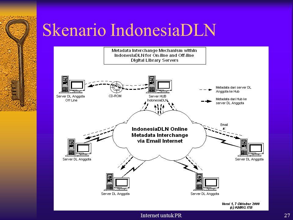 Internet untuk PR27 Skenario IndonesiaDLN
